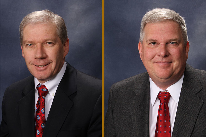 Attorneys John Becker and Scott French